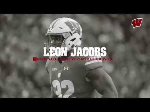 Leon Jacobs: Big Ten Co-Defensive Player of the Week vs Iowa