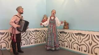 """Народный вокал: """"Сормовска больша дорожка"""", Савина Ксения."""