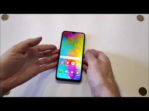 Samsung Galaxy M20 - распаковка, предварительный обзор