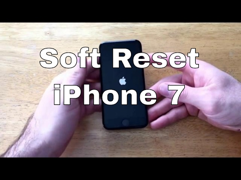 How to Soft reset / Restart IPhone 7/7+
