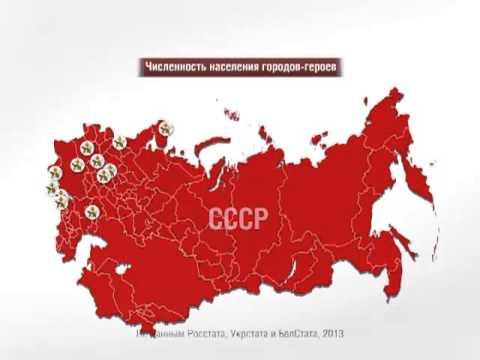 обзор юбилейные 10 рублей.города воинской славы,