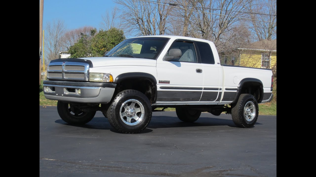hight resolution of 1998 dodge ram 2500 4x4 cummins diesel sold