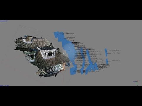3D Rooftop Model with Hubsan Quadcopter Camera
