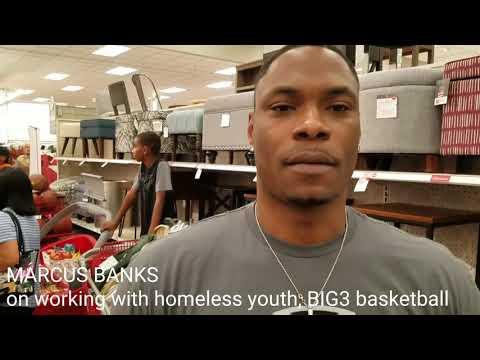 Marcus Banks, former UNLV basketball star, returns home for BIG3 basketball.