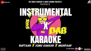 Sare Karo Dab - Instrumental x Karaoke - With Lyrics | PROD. KSHL MUSIC