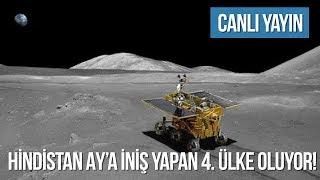 CANLI YAYIN: Hindistan Ay'a iniş yapmayı deniyor!