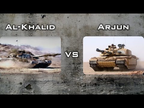 Al Khalid vs Arjun |Pakistan or India| That