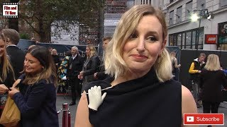Downton Abbey World Premiere Interviews: Elizabeth McGovern, Julian Fellowes, Laura Carmichael