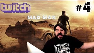 Game Rating Review Weekly TWITCH Stream: Mad Max #4 (05/23/18)