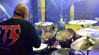Download ROCKSTAGE IV SOUND CHECK(FTG) P.PINANG 3 OGOS 2018 drum live by Zam FTG Mp3