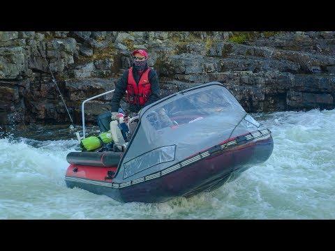 ВОДОМЕТНАЯ ЛОДКА для ШТУРМА горных рек │ Фрегат 480 + Yamaha 90 с водометом