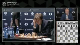 Карлсен - Карякин, 12 партия. Комментирует Сергей Шипов.