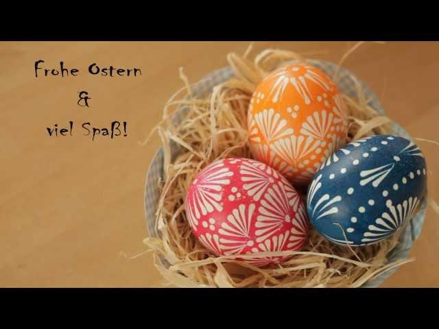 Ostereier Gestalten wunderschöne ostereier gestalten nach alter sorbischer wachstechnik