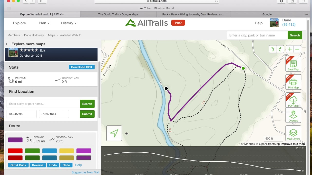 How To Create Custom Maps with AllTrails Pro - Routes and