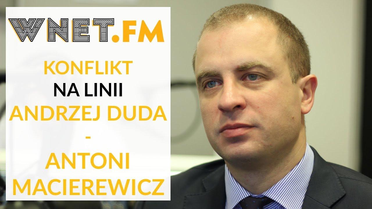 Wiceszef MON o słowach prezydenta Dudy: Mogły zaboleć ministra Macierewicza