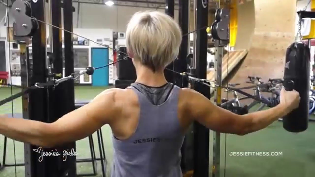 Jessie S Girls Training Programs Reverse Cable Flyes