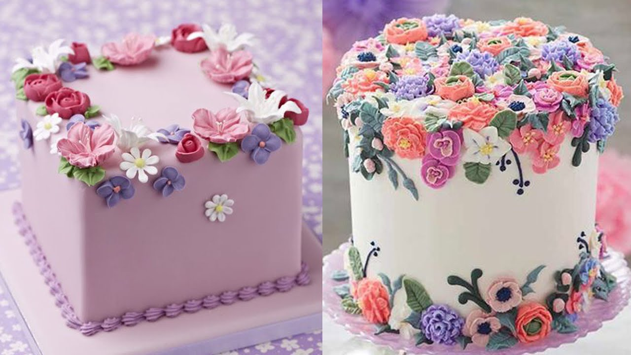 Top 100 Trending Cake Decorating Videos For All the Rainbow Cake Lovers | Perfect Cake Design