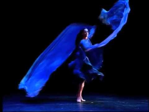 Blue Ballet Shoes Male Dancer