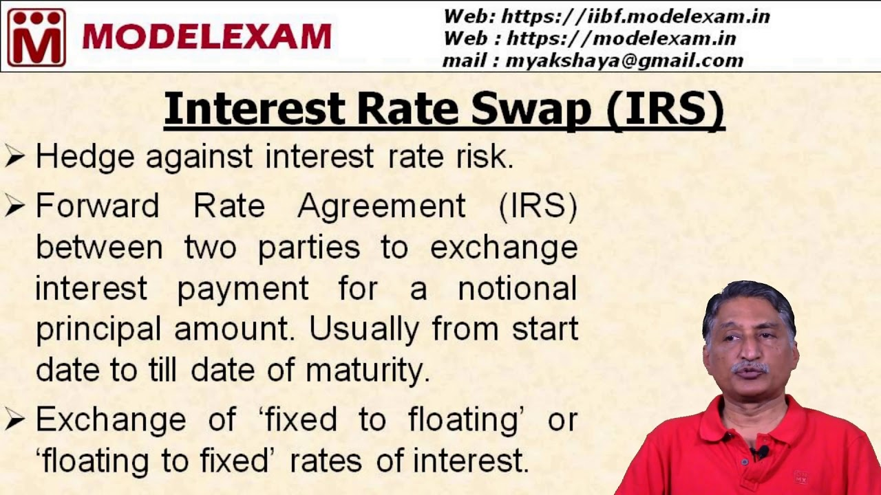 Jaiib Ppb Forward Contracts Interest Rate Swaps Youtube