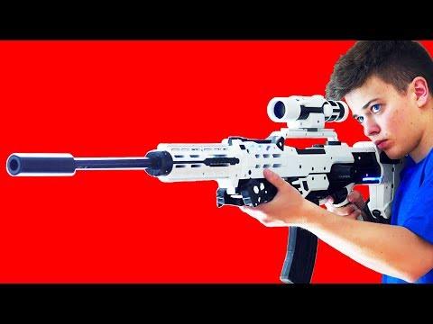 Top 10 BEST NERF GUNS TODAY!