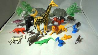 Plastic Animals Jungle Toys Figures for sale on EBAY!!!