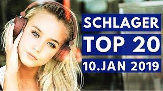 SCHLAGER CHARTS 2019 - Die TOP 20 vom 10. Januar