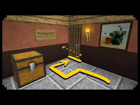 ✔ Minecraft: How to make a Secret Passage – Ep.10