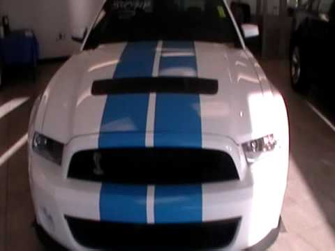 2010 FORD SHELBY COBRA MUSTANG GT 500 COUPE 6 SPEED MANUAL $43986.00...WWW.NHCARMAN.COM.MOD