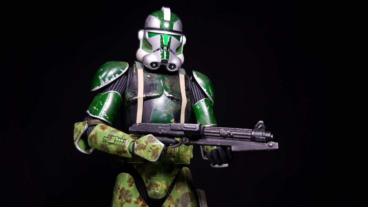 Building Bandai's Clone Trooper Commander Gree