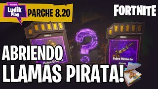 OPENING THE FIRST CALLS PIRATA PARCHE 8.20 FORTNITE SAVE THE WORLD Spanish Gameplay