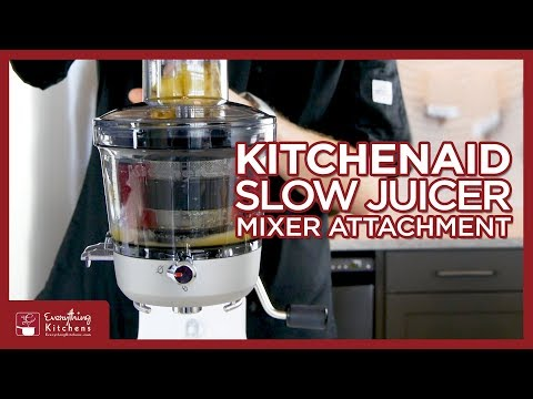 Juicer Filter Basket Base Attachments Set for KitchenAid Stand Mixer Welcome