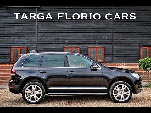 Volkswagen Touareg 5.0 V10 TDI PDF Automatic for sale in Black with Grey Leather London UK