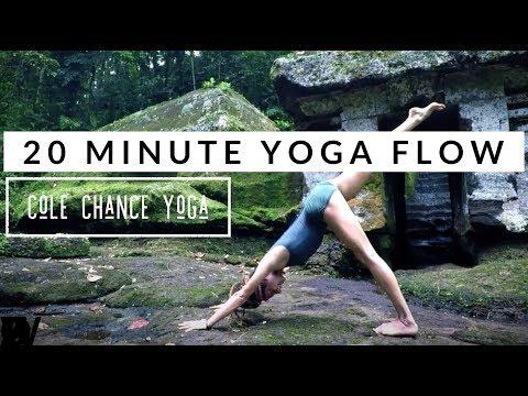 Cole Chance Yoga Vinyasa Flow Bali