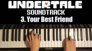 Undertale OST - 3. Your Best Friend (Piano Cover by Amosdoll)