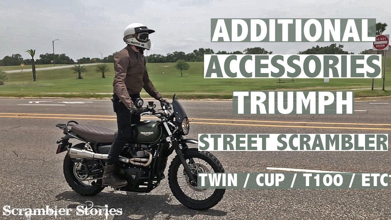 Additional Accessories For The Triumph Street Scrambler Street