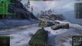World of Tanks 9.17 fx-8370 rx480 максимальні налаштування 1080p