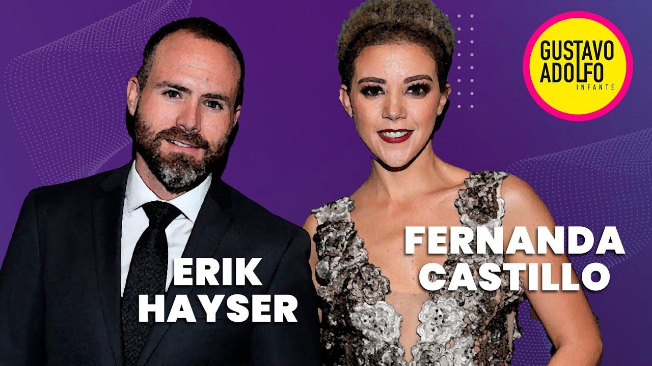 ¿Qué piensan Fernanda Castillo y Erik Hayser de Kate del Castillo y El Chapo?