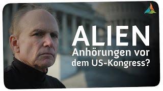 Wegen Alien-Kontakten / Anhörungen vor dem US-Kongress - Steve Bassett