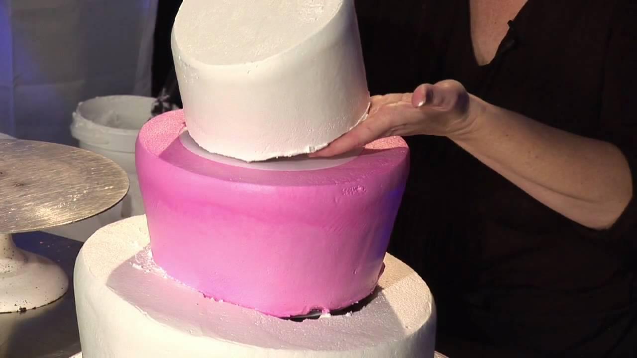 Three-Tier Whimsical Wedding Cake Design : Wedding Cake: Snap Top ...