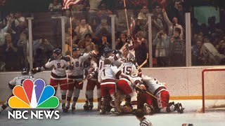Gambar cover 'Miracle On Ice' 40 Years Later: Team Looks Back On Historic Victory | NBC Nightly News