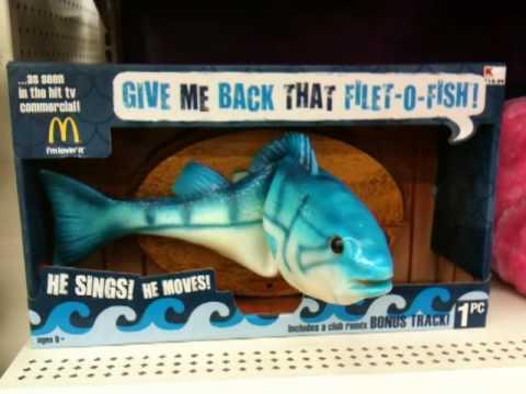 McD's Fillet-O-Fish Singing Fish