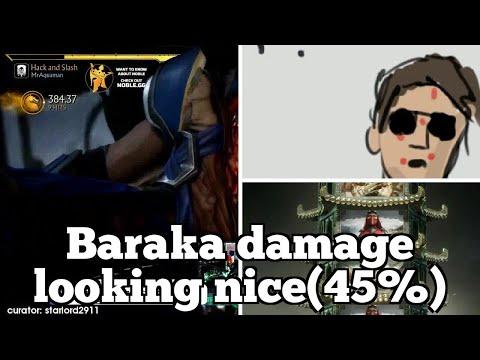 Daily FGC: Mortal Kombat 11 Plays: Baraka damage looking nice(45%) thumbnail