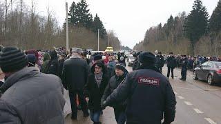 Народ вышел против свалки в Ядрово