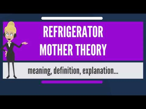 What is REFRIGERATOR MOTHER THEORY? What does REFRIGERATOR MOTHER THEORY mean?