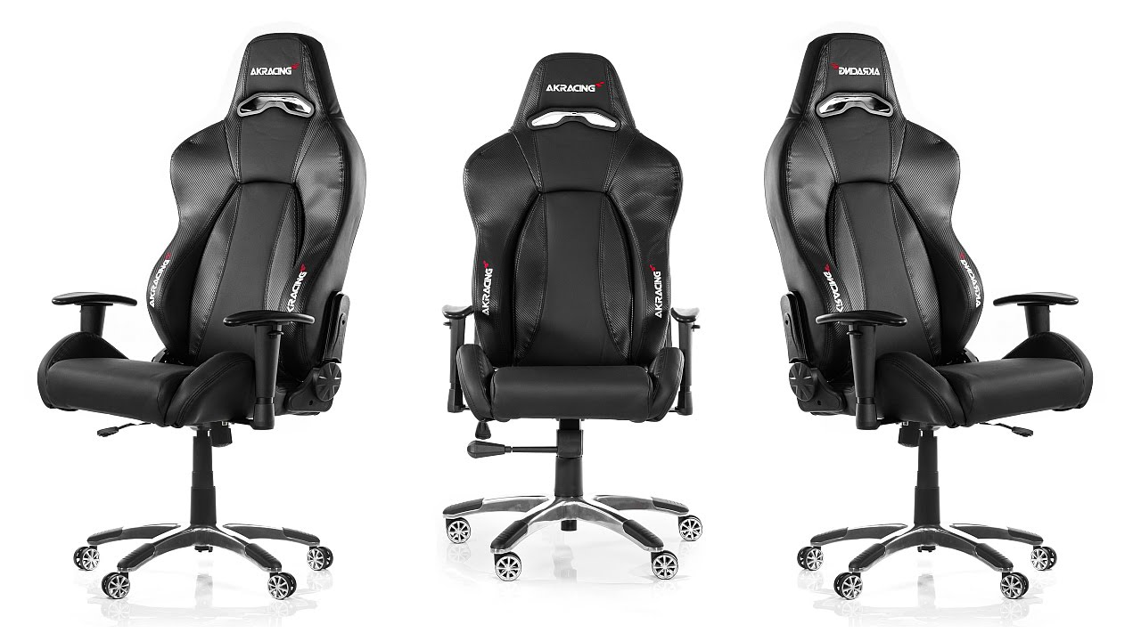 AKRACING Premium Gaming Chair V2 Unboxing  YouTube