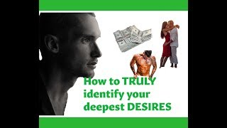 How To Find Out What You TRULY Desire! See Synchronicity Happen More! Manifest Your Desires Faster!