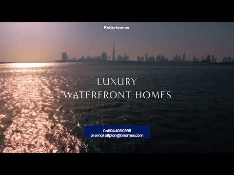 Introducing Creek Palace's 5-star luxury waterfront homes in Dubai
