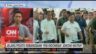 Jelang Pidato Kebangsaan 'Visi Indonesia' Jokowi-Ma'ruf