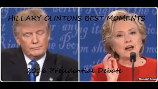 hillary clinton destroys donald trump best moments 2016 presidential debate for democrats