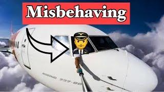 Pilots misbehaving on Social media